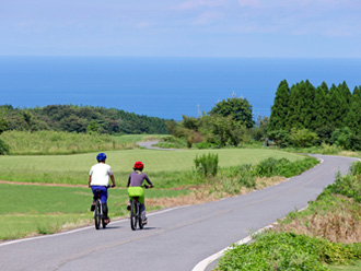 Downhill Biking B (Long Course Starting from Mt. Daisen to the sea of Japan)
